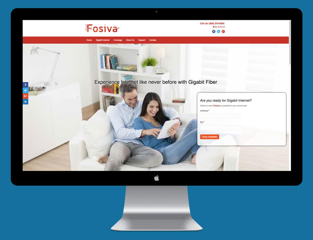 Fosiva New Website